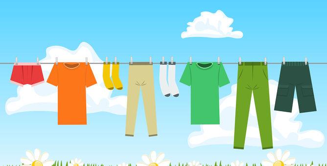 Pomaganie przez ubranie