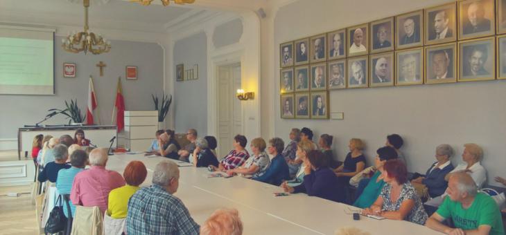 spotkanie wolontariuszy 60+