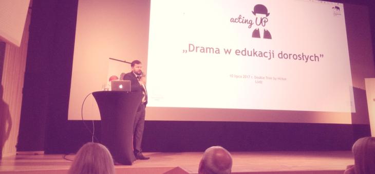 Drama w edukacji dorosłych