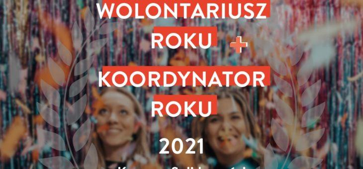 """""""WOLONTARIUSZ I KOORDYNATOR ROKU"""" – WYNIKI KONKURSU"""